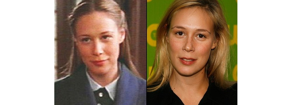 Gilmore Girls Fun Facts - Then and Now 9 - Liza Weil