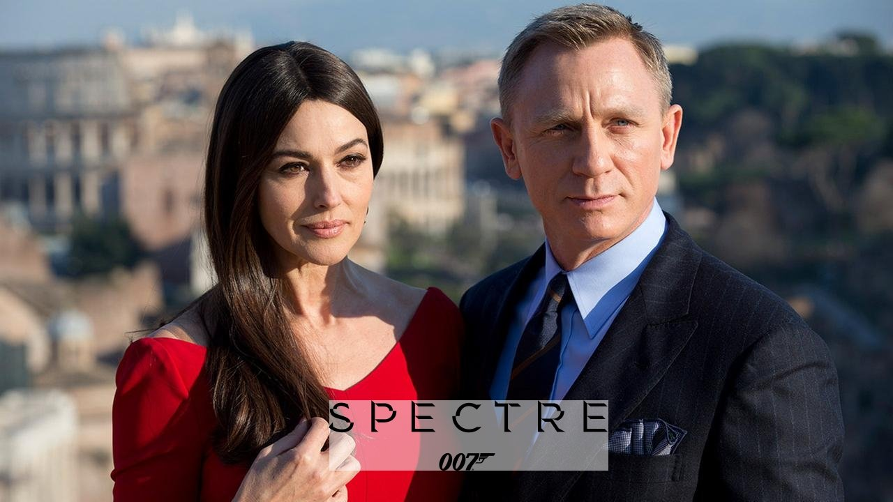 James Bond Girl Spectre Monica Bellucci Logo