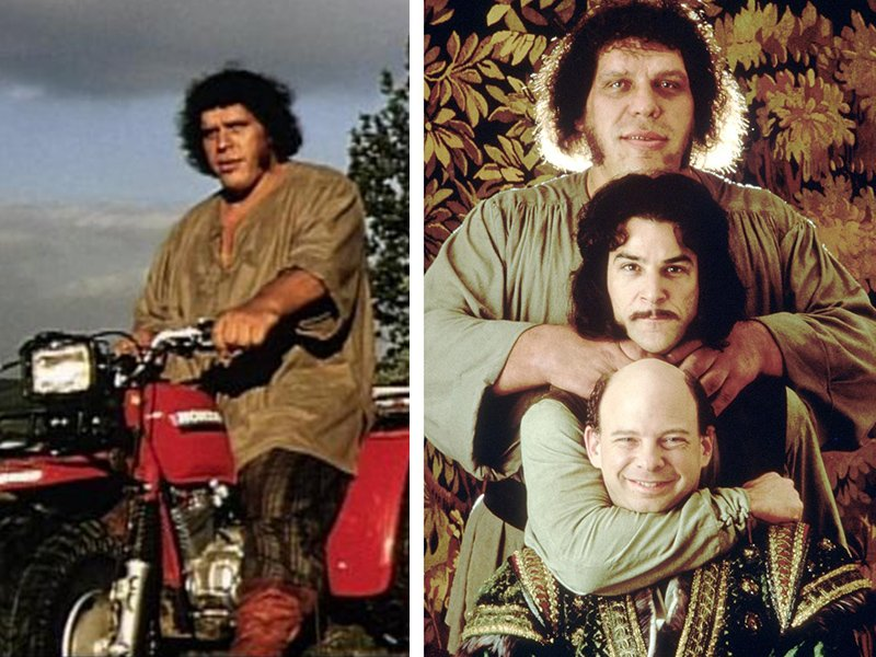 The Princess Bride Fun Facts From Behind the Scenes - Inigo Vezzini Andre the Giant on ATV