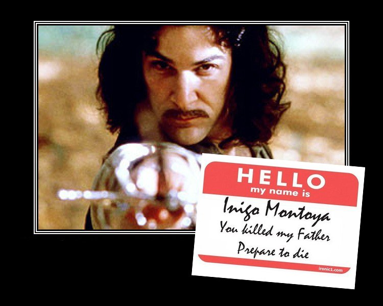 The Princess Bride Fun Facts From Behind the Scenes - Inigo Quote
