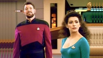 Star Trek Troi Cleavage