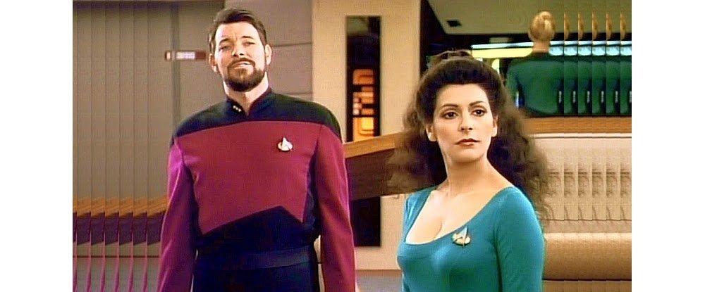 Star Trek Troi Cleavage
