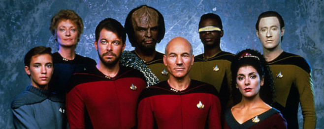 Star Trek the Next Generation Tales From the Set - Cast