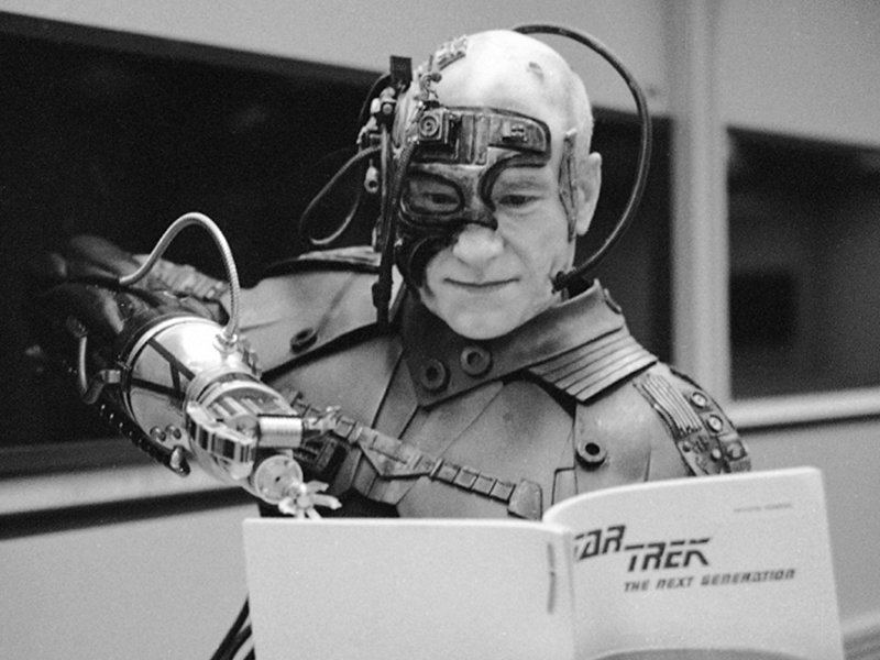 Star Trek the Next Generation Tales From the Set - Locutus Reading Script