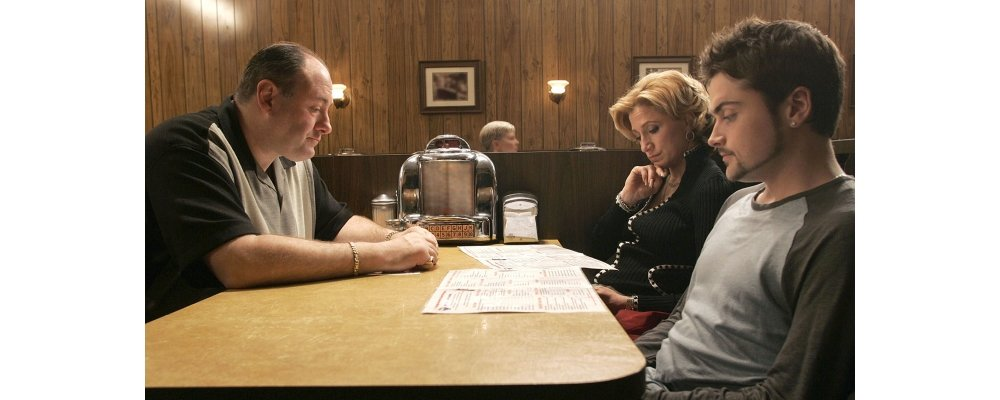 The Sopranos Best Moments - The Diner Scene