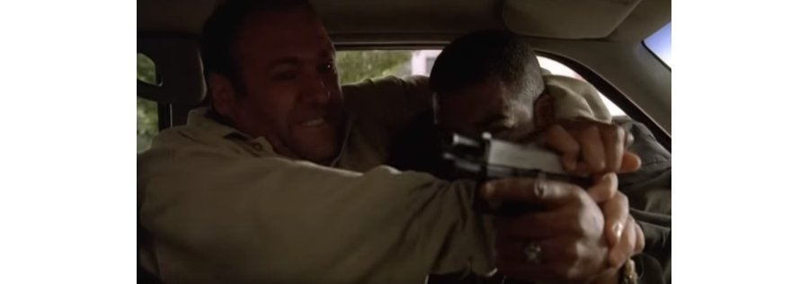 The Sopranos Best Moments - Tony Fight Off Car Jackers