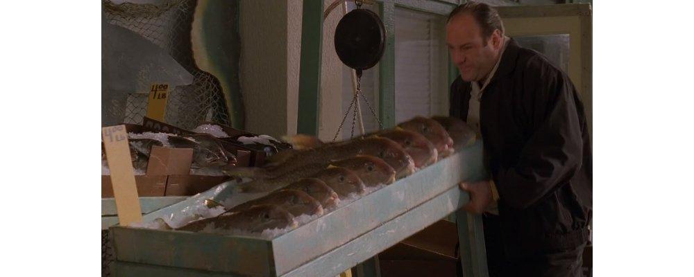 The Sopranos Best Moments - Tony Fish Dream