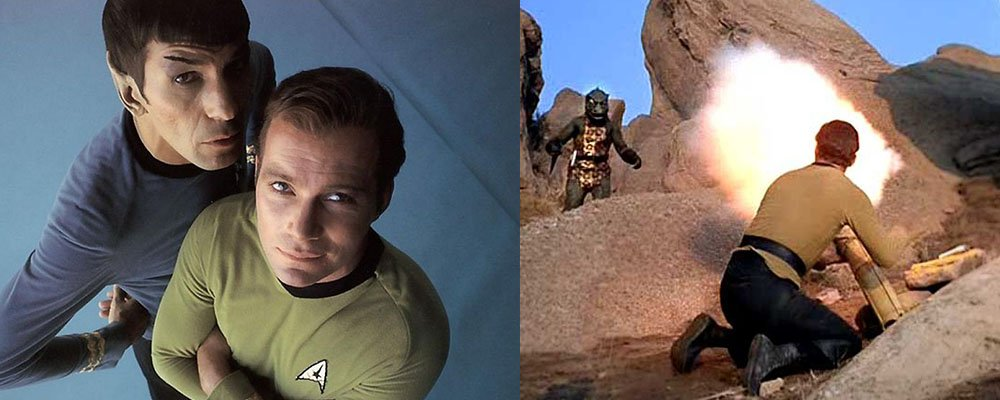 Star Trek The Original Series Secrets - Spock Kirk Gorn Arena
