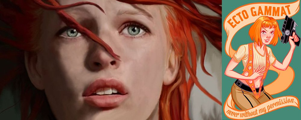 The Fifth Element Revealed - Leeloo Art
