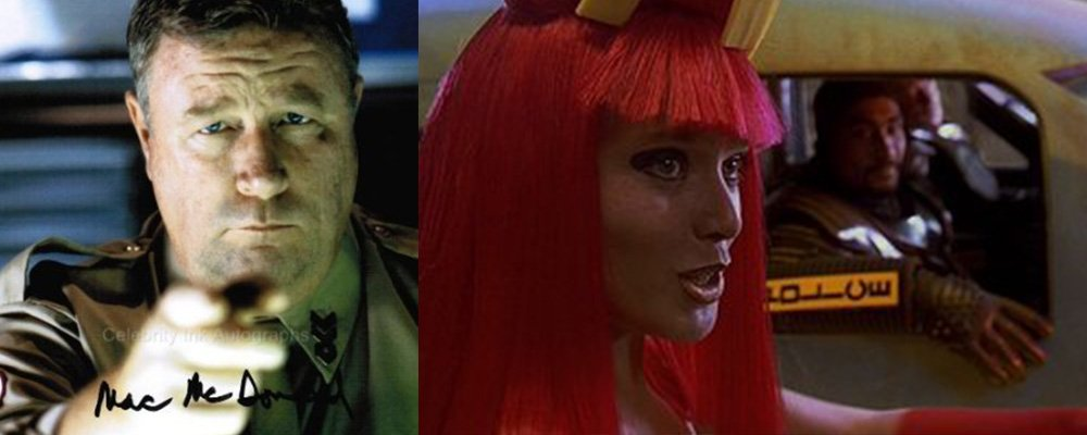 The Fifth Element Revealed - Red Dwarf Captain Hollister McDonalds Girl Cops