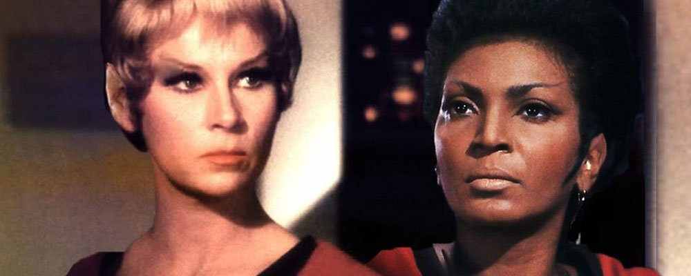 Alternate Star Trek The Original Series Secrets - Yeoman Rand Uhura with Vulcan Ears