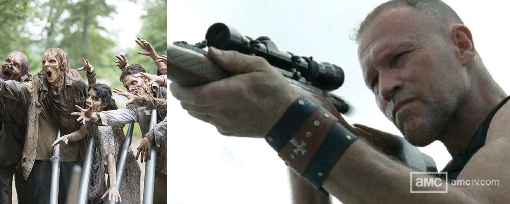 The Walking Dead Surprising Stories From Behind The Scenes - Merle Walkers