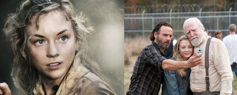 The Walking Dead Surprising Stories From Behind The Scenes - Beth Rick Hershel