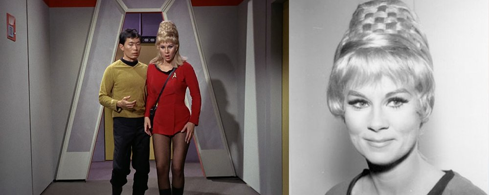 Star Trek The Original Series Secrets - Sulu and Yeoman Janice Rand