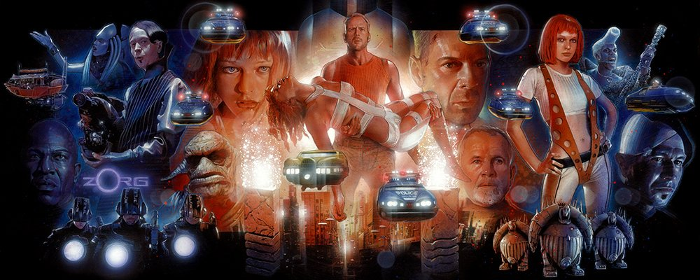 The Fifth Element Revealed - Art
