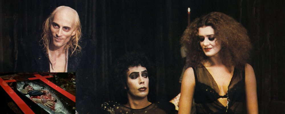 Rocky Horror Picture Show Strange Stories From Behind the Scenes - Dead Eddie Riff Raff Frank Magenta