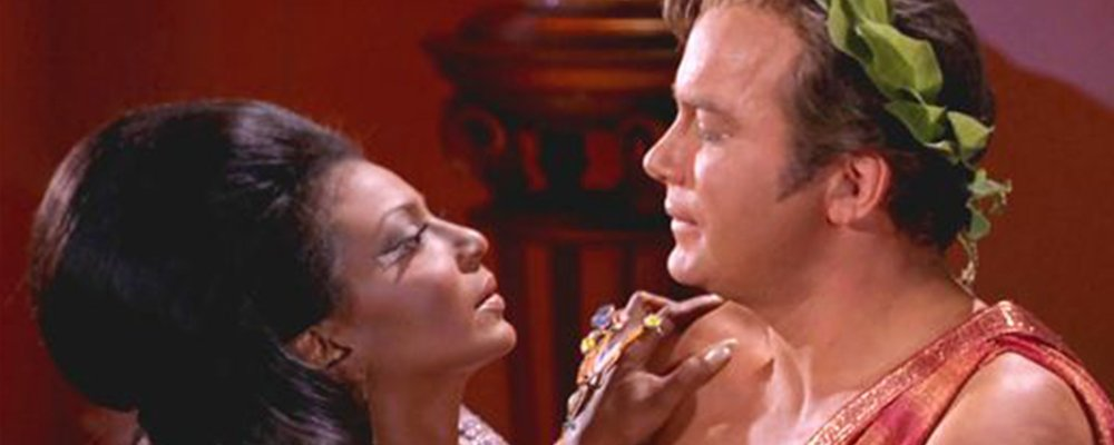 Star Trek The Original Series Secrets - Uhura Captain James Kirk Kiss