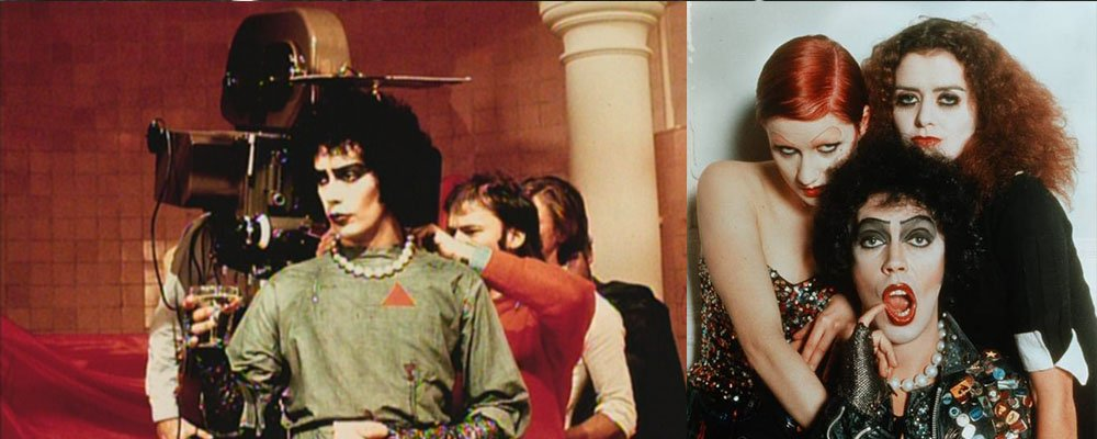 Rocky Horror Picture Show Strange Stories From Behind the Scenes - Frank Columbia Magenta