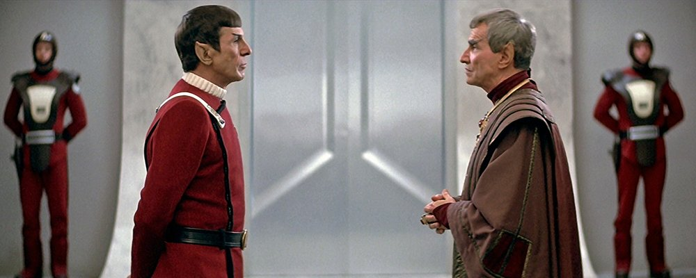 Star Trek The Original Series Secrets - Spock and Sarek