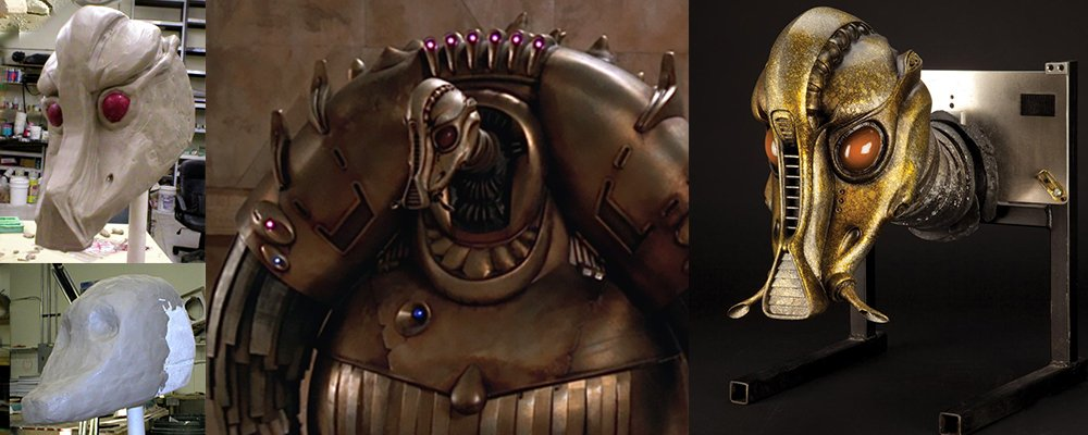 The Fifth Element Revealed - Mondoshawan Heads Making