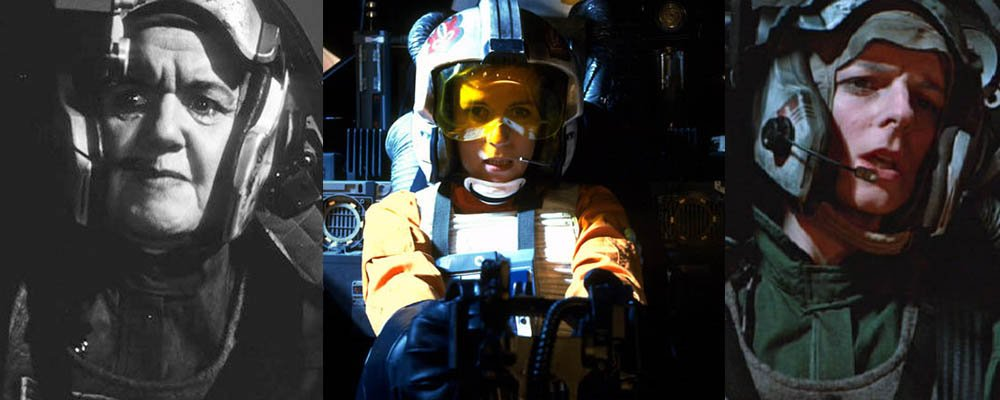 Star Wars Secrets Episode VI Return of the Jedi - Female Fighter Pilots