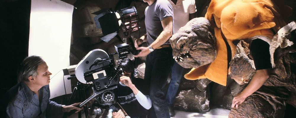 Star Wars Secrets Episode VI Return of the Jedi - Rancor Test Shot