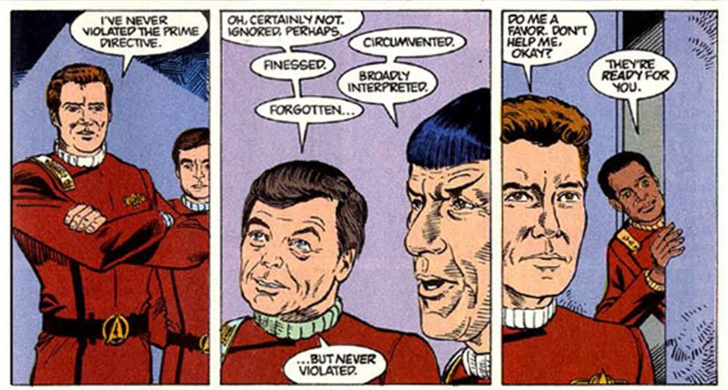 Star Trek The Original Series Secrets - Comic