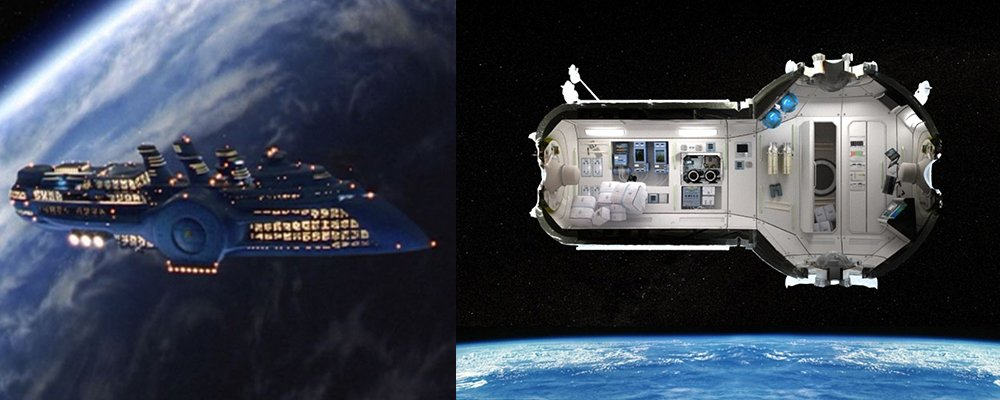 The Fifth Element Revealed - Fhloston Paradise Russian Space Hotel
