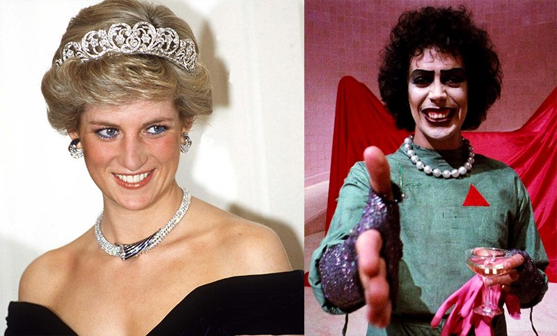 Rocky Horror Picture Show Strange Stories From Behind the Scenes - Princess Diana Frank
