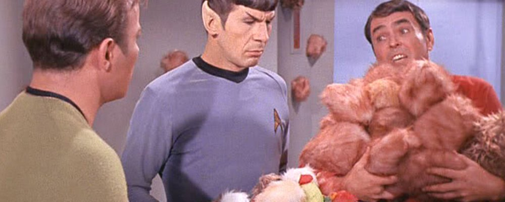 Star Trek The Original Series Secrets - Scotty Trouble With Tribbles Finger