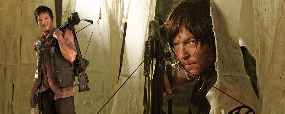 The Walking Dead Surprising Stories From Behind The Scenes - Daryl Dixon