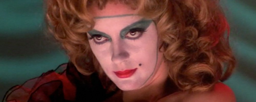 Rocky Horror Picture Show Strange Stories From Behind the Scenes - Janet Face Paint