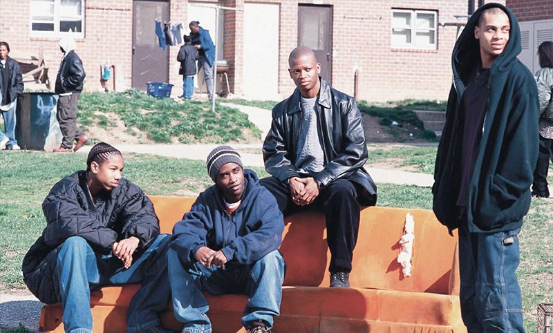 The Wire Revealed - Cast Couch