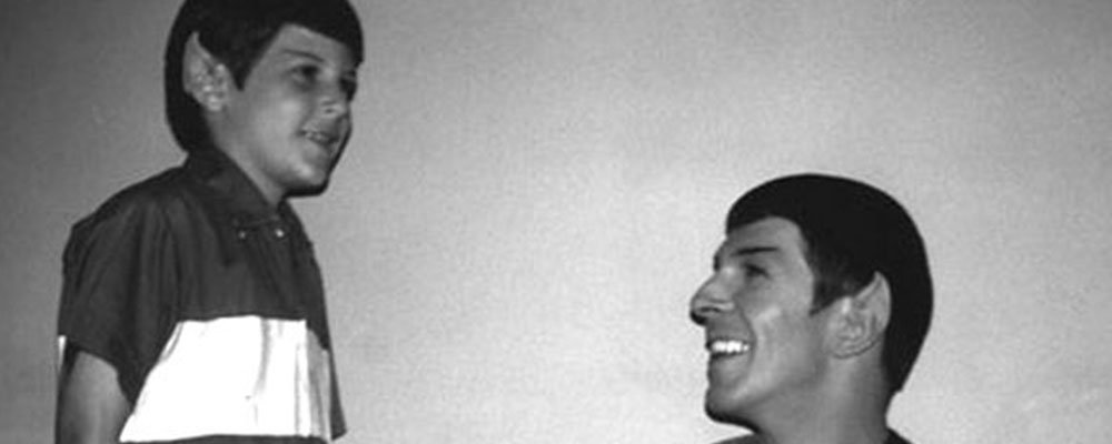 Star Trek The Original Series Secrets - Spock With Kid Vulcan