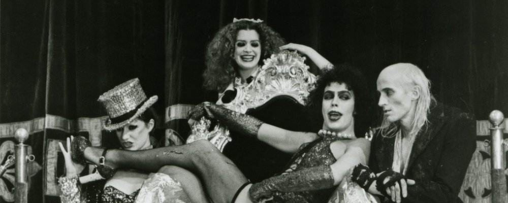 Rocky Horror Picture Show Strange Stories From Behind the Scenes - Frank on Throne