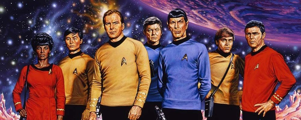 Star Trek The Original Series Secrets - Art of Cast