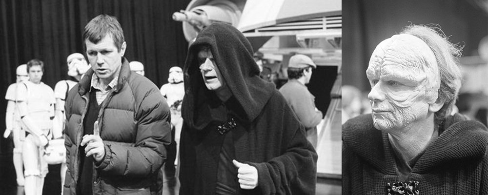 Star Wars Secrets Episode VI Return of the Jedi - Emperor Palpatine Behind Scenes