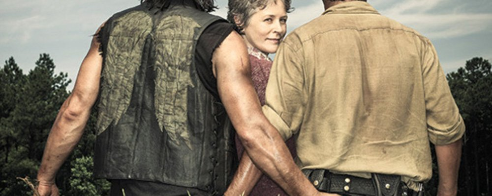 The Walking Dead Surprising Stories From Behind The Scenes - Daryl Carol Rick