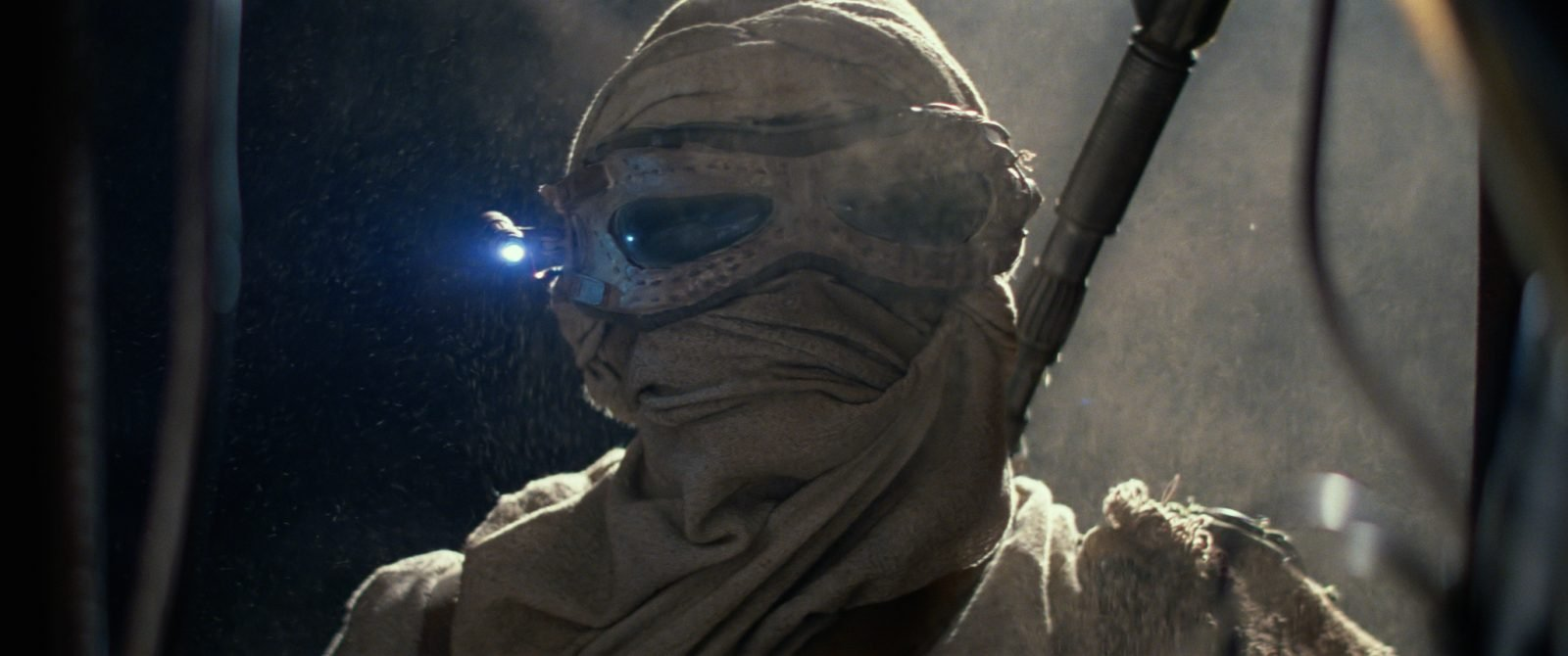 Star Wars VII The Force Awakens 1 - Rey Skywalker with Eyewear