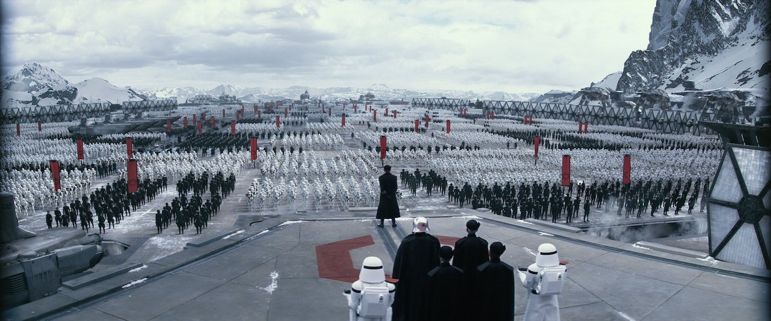 Star Wars VII The Force Awakens 17 - The First Order assembly