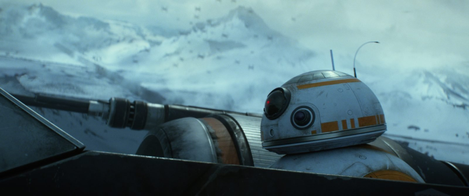 Star Wars VII The Force Awakens 2 - BB-8 in X-Wing