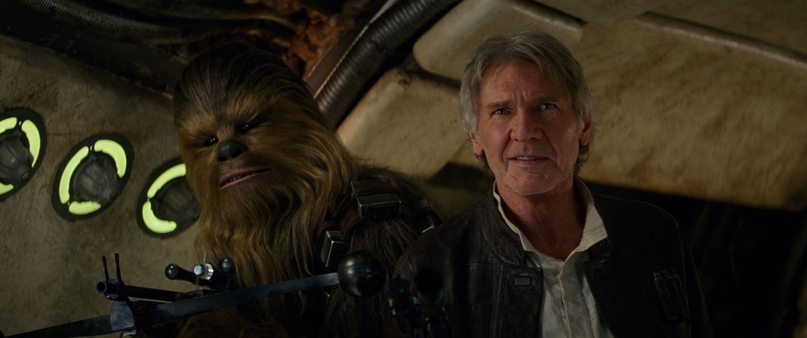 Star Wars VII The Force Awakens 32 - Chewie and Han are home