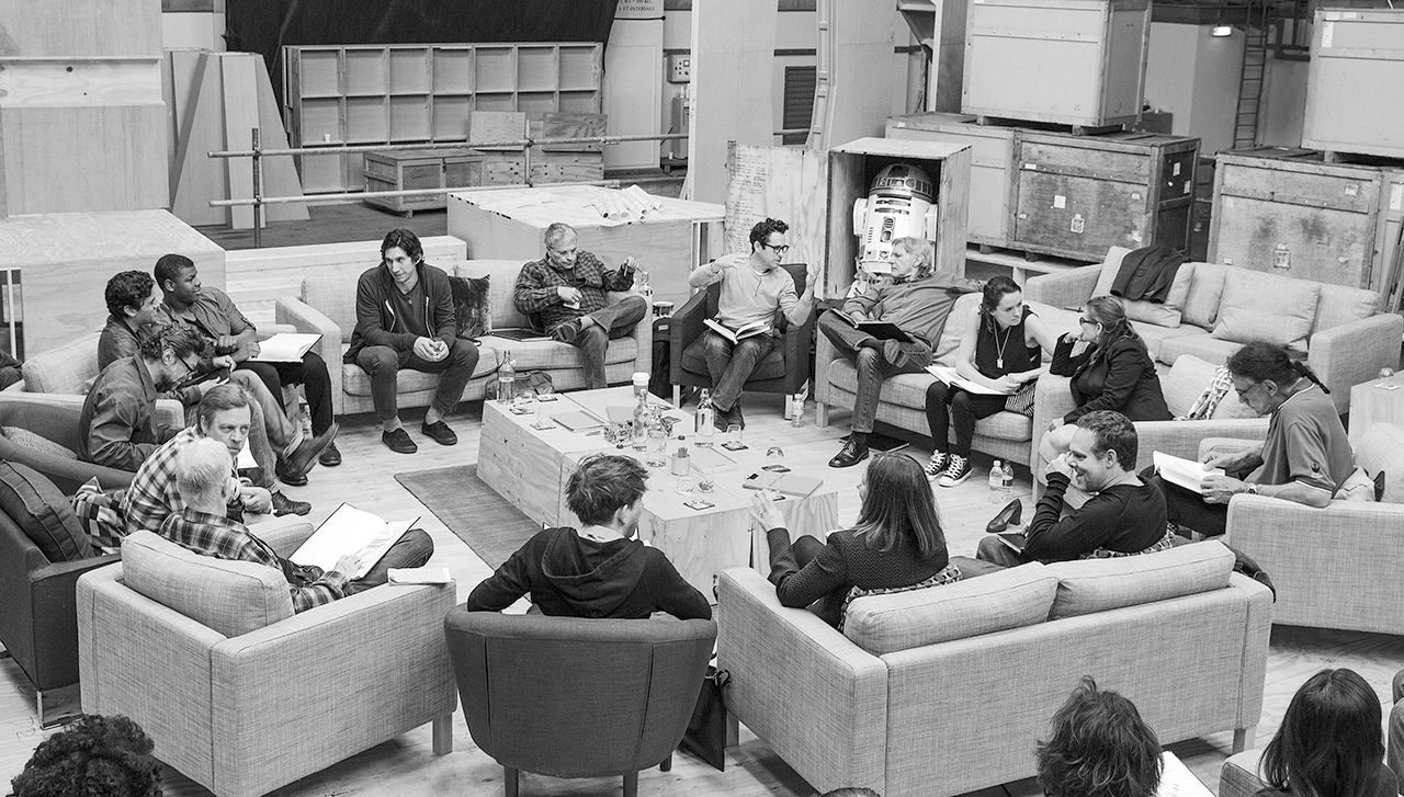 Star Wars VII The Force Awakens 36 - Script Reading