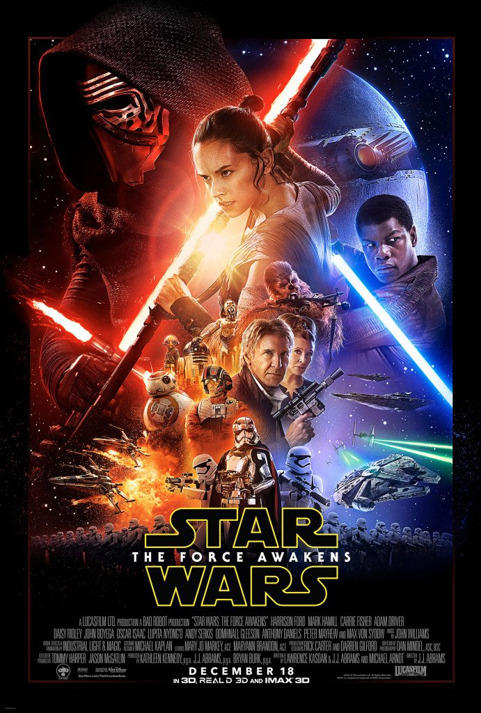 Star Wars VII The Force Awakens 43 - Official Poster