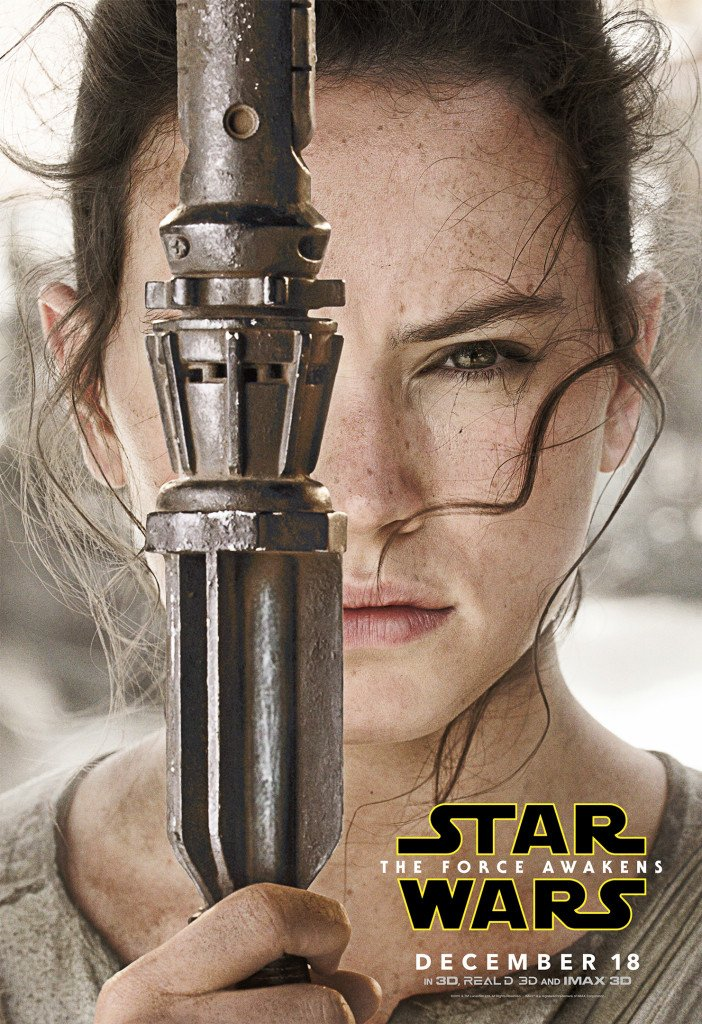 Star Wars VII The Force Awakens 44 - Character Poster Rey