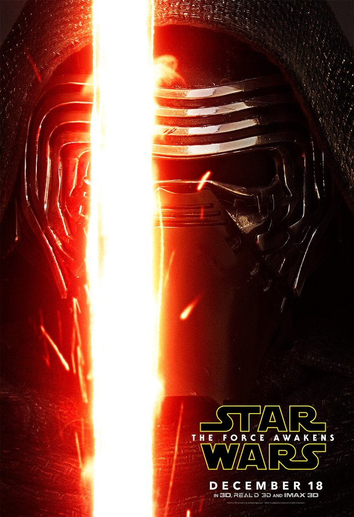 Star Wars VII The Force Awakens 46 - Character Poster Kylo Ren