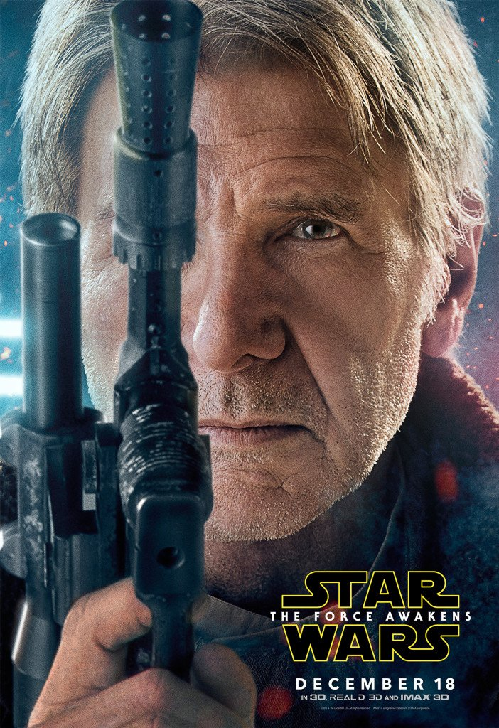 Star Wars VII The Force Awakens 47 - Character Poster Han Solo
