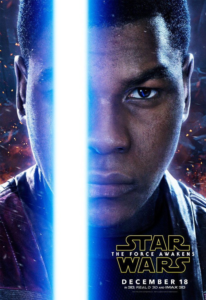Star Wars VII The Force Awakens 48 - Character Poster Finn