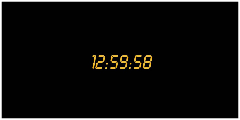 24 series trivia clock