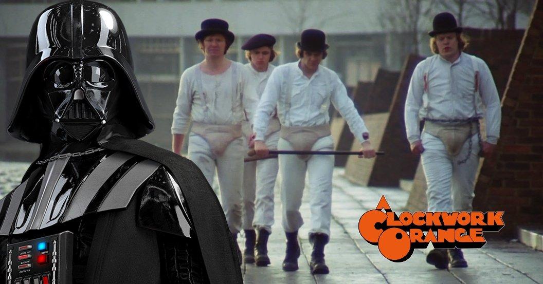 Clockwork Orange Darth Vader